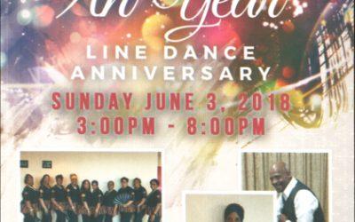 Najah & The Brick City Soul Line Dancers 9th Year Anniversary