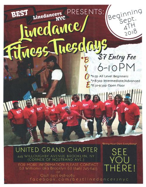 Linedancercize Beginning September 2018