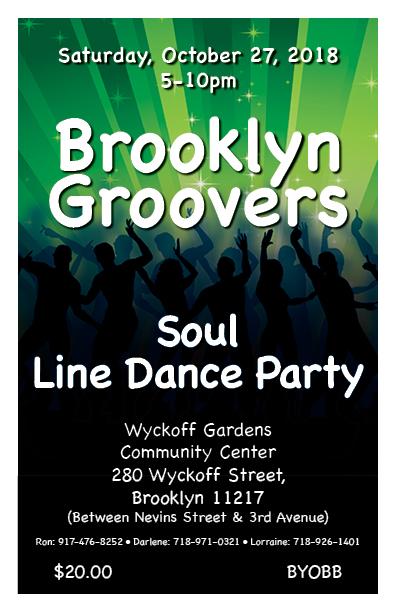 BG Soul Line Dance Party ***VENUE & TIME CHANGE