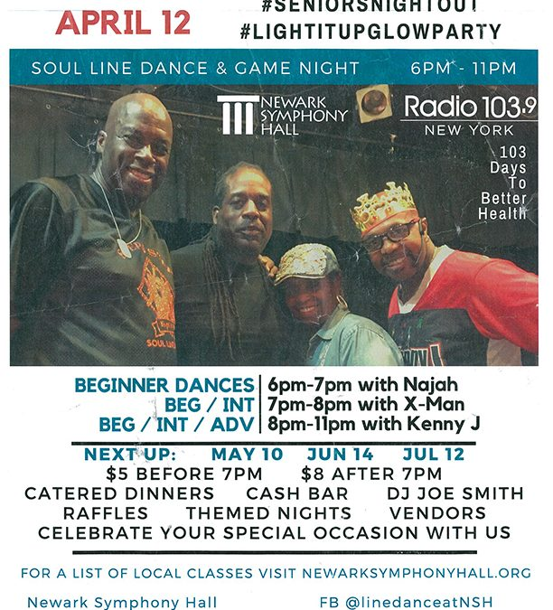 Soul Line Dance and Game Night
