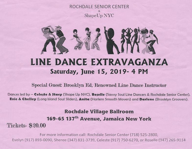 Line Dance Extravaganza